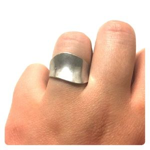 Size 7 Sterling silver ring.